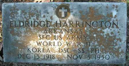 HARRINGTON  (VETERAN 2 WARS), ELDRIDGE - Faulkner County, Arkansas | ELDRIDGE HARRINGTON  (VETERAN 2 WARS) - Arkansas Gravestone Photos