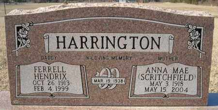 HARRINGTON, FERRELL HENDRIX - Faulkner County, Arkansas | FERRELL HENDRIX HARRINGTON - Arkansas Gravestone Photos