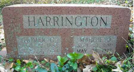 HARRINGTON, HOMER G. - Faulkner County, Arkansas | HOMER G. HARRINGTON - Arkansas Gravestone Photos