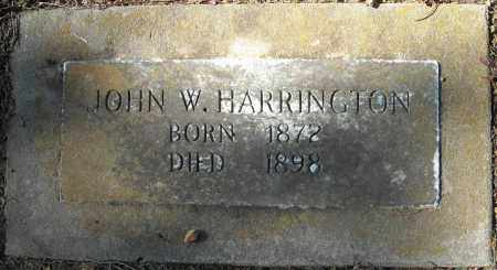 HARRINGTON, JOHN W. - Faulkner County, Arkansas | JOHN W. HARRINGTON - Arkansas Gravestone Photos