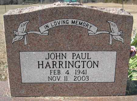 HARRINGTON (VETERAN), JOHN PAUL - Faulkner County, Arkansas | JOHN PAUL HARRINGTON (VETERAN) - Arkansas Gravestone Photos