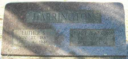 HARRINGTON, LUTHER S. - Faulkner County, Arkansas | LUTHER S. HARRINGTON - Arkansas Gravestone Photos