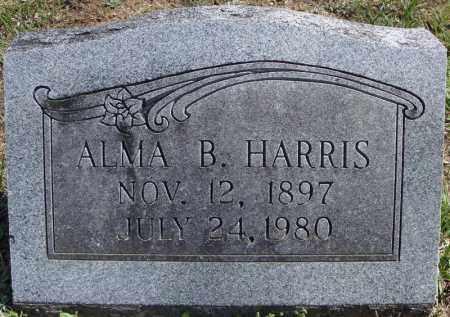 HARRIS, ALMA B. - Faulkner County, Arkansas | ALMA B. HARRIS - Arkansas Gravestone Photos
