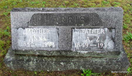 HARRIS, A.Z. - Faulkner County, Arkansas | A.Z. HARRIS - Arkansas Gravestone Photos