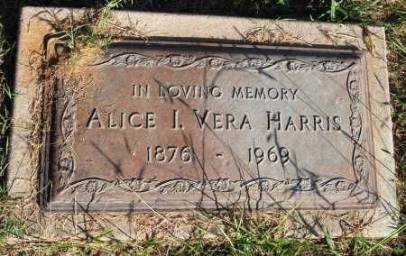 HARRIS, ALICE I. VERA - Faulkner County, Arkansas | ALICE I. VERA HARRIS - Arkansas Gravestone Photos