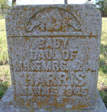 HARRIS, BABY DAUGHTER - Faulkner County, Arkansas | BABY DAUGHTER HARRIS - Arkansas Gravestone Photos
