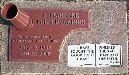 HARRIS, F. MARLENE - Faulkner County, Arkansas | F. MARLENE HARRIS - Arkansas Gravestone Photos