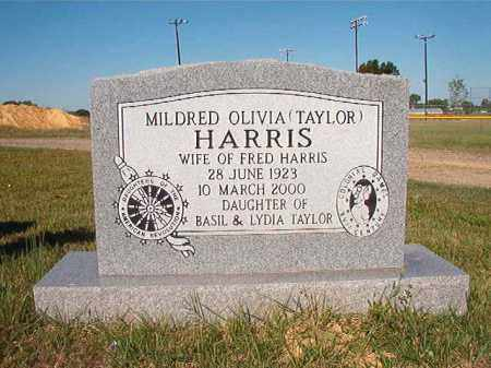 TAYLOR HARRIS, MILDRED OLIVIA - Faulkner County, Arkansas | MILDRED OLIVIA TAYLOR HARRIS - Arkansas Gravestone Photos