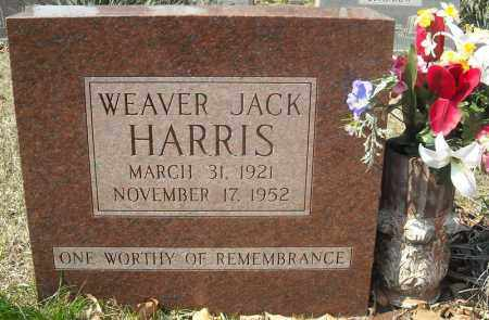 HARRIS, WEAVER JACK - Faulkner County, Arkansas | WEAVER JACK HARRIS - Arkansas Gravestone Photos