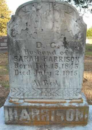 HARRISON, D.C. - Faulkner County, Arkansas | D.C. HARRISON - Arkansas Gravestone Photos