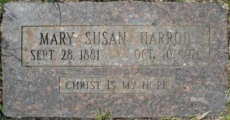 HARROD, MARY SUSAN - Faulkner County, Arkansas   MARY SUSAN HARROD - Arkansas Gravestone Photos