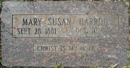 HARROD, MARY SUSAN - Faulkner County, Arkansas | MARY SUSAN HARROD - Arkansas Gravestone Photos