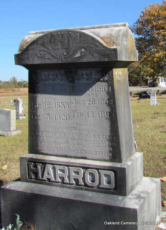 HARROD (VETERAN CSA), CHRISTOPHER COLUMBUS - Faulkner County, Arkansas | CHRISTOPHER COLUMBUS HARROD (VETERAN CSA) - Arkansas Gravestone Photos
