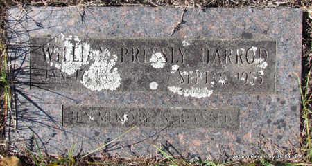 HARROD, WILLIAM PRESSLY - Faulkner County, Arkansas | WILLIAM PRESSLY HARROD - Arkansas Gravestone Photos