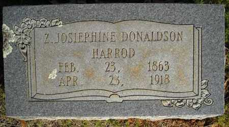 HARROD, Z. JOSIEPHINE - Faulkner County, Arkansas | Z. JOSIEPHINE HARROD - Arkansas Gravestone Photos