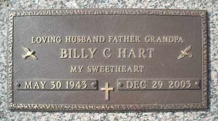 HART, BILLY C. - Faulkner County, Arkansas | BILLY C. HART - Arkansas Gravestone Photos