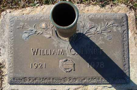 HART, WILLIAM C. - Faulkner County, Arkansas | WILLIAM C. HART - Arkansas Gravestone Photos