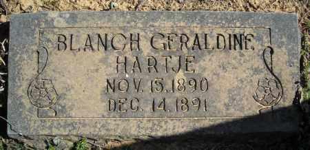 HARTJE, BLANCHE GERALDINE - Faulkner County, Arkansas | BLANCHE GERALDINE HARTJE - Arkansas Gravestone Photos