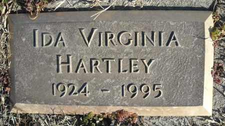 HARTLEY, IDA VIRGINIA - Faulkner County, Arkansas | IDA VIRGINIA HARTLEY - Arkansas Gravestone Photos