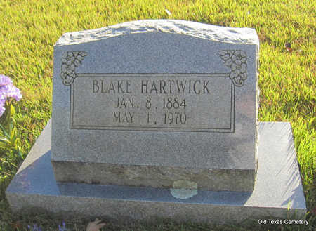 HARTWICK, BLAKE - Faulkner County, Arkansas | BLAKE HARTWICK - Arkansas Gravestone Photos