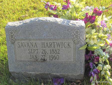 HARTWICK, SAVANA - Faulkner County, Arkansas | SAVANA HARTWICK - Arkansas Gravestone Photos