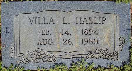HASLIP, VILLA L. - Faulkner County, Arkansas | VILLA L. HASLIP - Arkansas Gravestone Photos