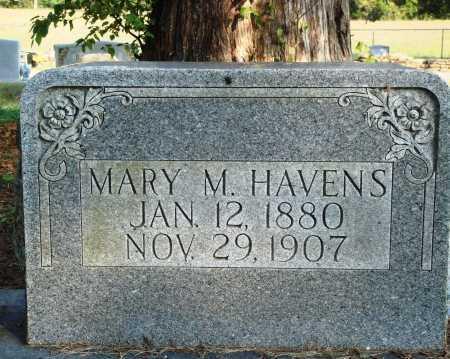 HAVENS, MARY M. - Faulkner County, Arkansas | MARY M. HAVENS - Arkansas Gravestone Photos