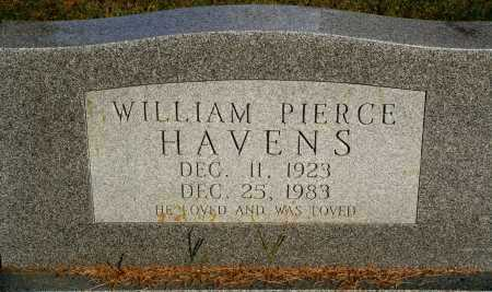 HAVENS, WILLIAM PIERCE - Faulkner County, Arkansas | WILLIAM PIERCE HAVENS - Arkansas Gravestone Photos