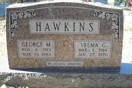 HAWKINS, GEORGE M. - Faulkner County, Arkansas | GEORGE M. HAWKINS - Arkansas Gravestone Photos