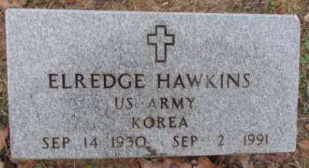 HAWKINS (VETERAN KOR), ELREDGE - Faulkner County, Arkansas | ELREDGE HAWKINS (VETERAN KOR) - Arkansas Gravestone Photos