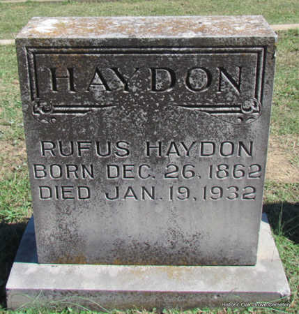 HAYDON, RUFUS - Faulkner County, Arkansas | RUFUS HAYDON - Arkansas Gravestone Photos