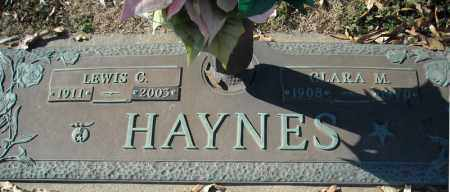 HAYNES, CLARA M. - Faulkner County, Arkansas | CLARA M. HAYNES - Arkansas Gravestone Photos