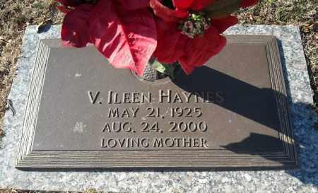 HAYNES, V. ILEEN - Faulkner County, Arkansas | V. ILEEN HAYNES - Arkansas Gravestone Photos