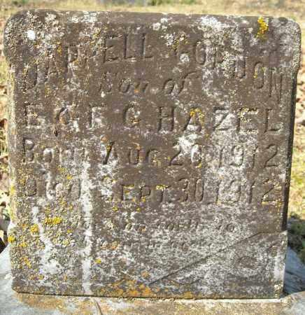 HAZEL, JARRELL GORDON - Faulkner County, Arkansas | JARRELL GORDON HAZEL - Arkansas Gravestone Photos
