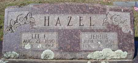 HAZEL, JENNIE - Faulkner County, Arkansas | JENNIE HAZEL - Arkansas Gravestone Photos