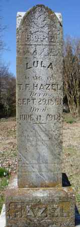 HAZEL, LULA - Faulkner County, Arkansas | LULA HAZEL - Arkansas Gravestone Photos