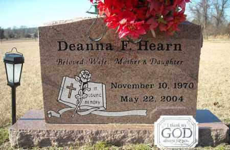 HEARN, DEANNA F. - Faulkner County, Arkansas | DEANNA F. HEARN - Arkansas Gravestone Photos