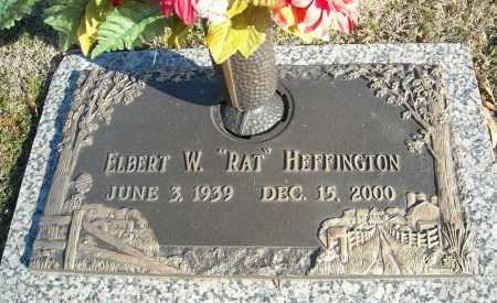 HEFFINGTON, ELBERT W. - Faulkner County, Arkansas | ELBERT W. HEFFINGTON - Arkansas Gravestone Photos