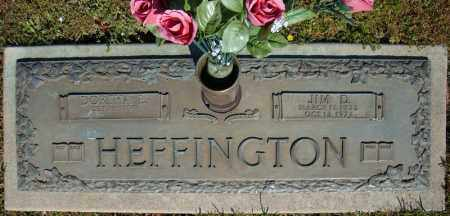 HEFFINGTON, JIM D. - Faulkner County, Arkansas | JIM D. HEFFINGTON - Arkansas Gravestone Photos