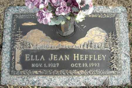 HEFFLEY, ELLA JEAN - Faulkner County, Arkansas | ELLA JEAN HEFFLEY - Arkansas Gravestone Photos