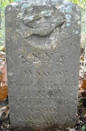 HEGI, ANNA - Faulkner County, Arkansas | ANNA HEGI - Arkansas Gravestone Photos