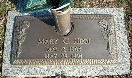 HEGI, MARY C. - Faulkner County, Arkansas | MARY C. HEGI - Arkansas Gravestone Photos