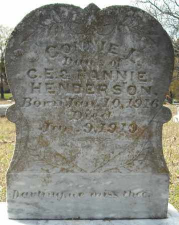 HENDERSON, CONNIE L. - Faulkner County, Arkansas | CONNIE L. HENDERSON - Arkansas Gravestone Photos