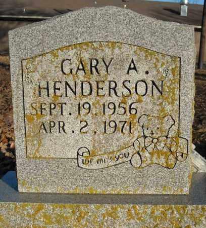 HENDERSON, GARY A. - Faulkner County, Arkansas | GARY A. HENDERSON - Arkansas Gravestone Photos