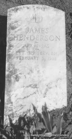 HENDERSON (VETERAN), JAMES - Faulkner County, Arkansas | JAMES HENDERSON (VETERAN) - Arkansas Gravestone Photos