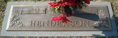 HENDERSON, JOSEPH H. - Faulkner County, Arkansas | JOSEPH H. HENDERSON - Arkansas Gravestone Photos