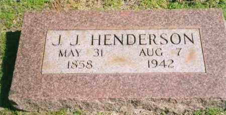 HENDERSON, JAMES JACKSON - Faulkner County, Arkansas | JAMES JACKSON HENDERSON - Arkansas Gravestone Photos