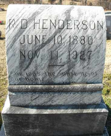 HENDERSON, RHODEMA D. - Faulkner County, Arkansas | RHODEMA D. HENDERSON - Arkansas Gravestone Photos