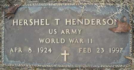 HENDERSON (VETERAN WWII), HERSHEL T - Faulkner County, Arkansas | HERSHEL T HENDERSON (VETERAN WWII) - Arkansas Gravestone Photos