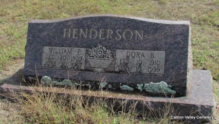 HENDERSON, DORA B. - Faulkner County, Arkansas | DORA B. HENDERSON - Arkansas Gravestone Photos